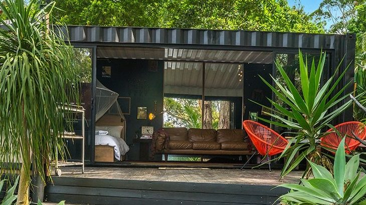 Small And Cozy Shipping Container House