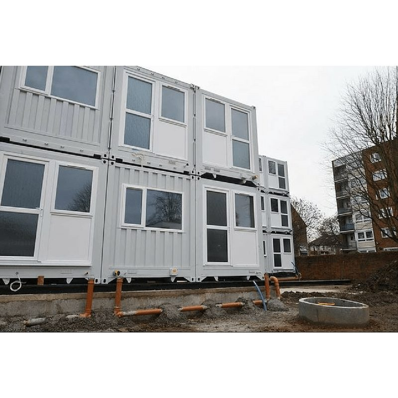 Marston Court Container Homes – London 2