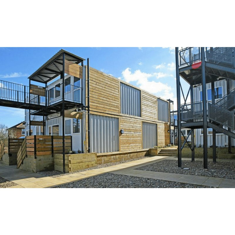 Marston Court Container Homes – London 5
