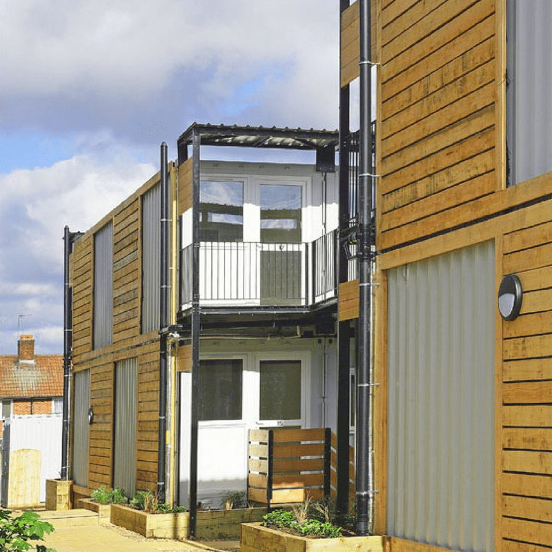 Marston Court Container Homes – London 11