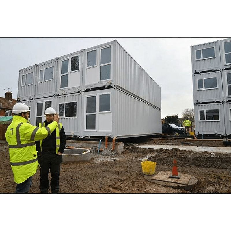 Marston Court Container Homes – London 3