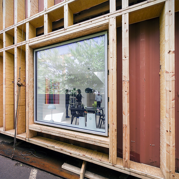 Upcycled Shipping Container House – China 10