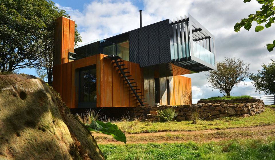 The Grand Designs Shipping Container House Ireland Container Hacker