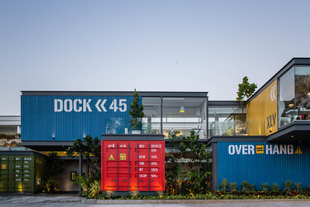 Dock 45 Container Restaurant India How To Build A Container Home