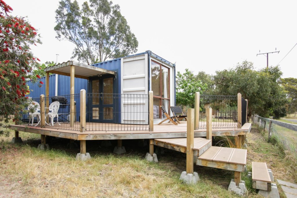 Deluxe Shipping Container Home 1