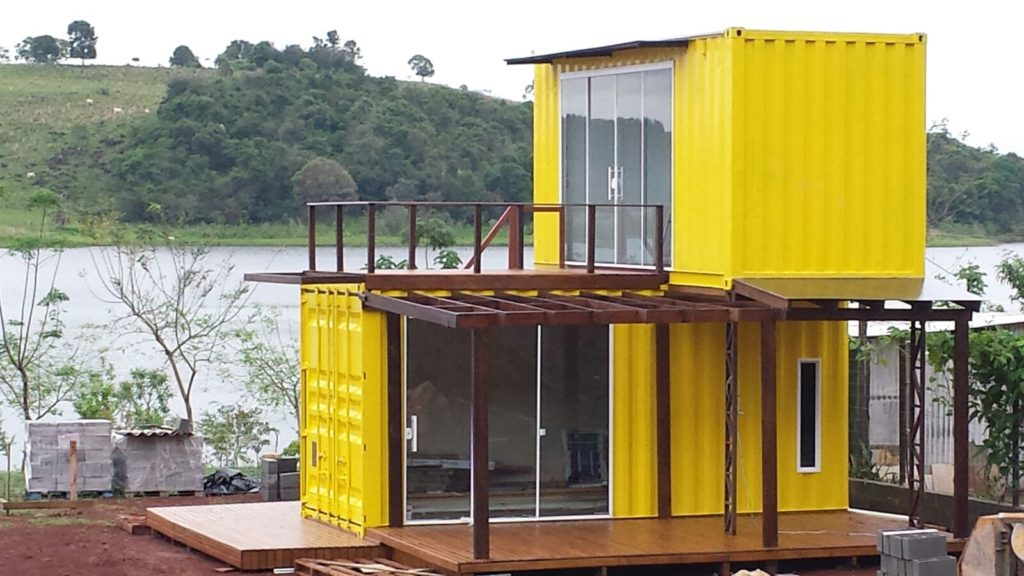 Yellow Container Home – Brazil 3