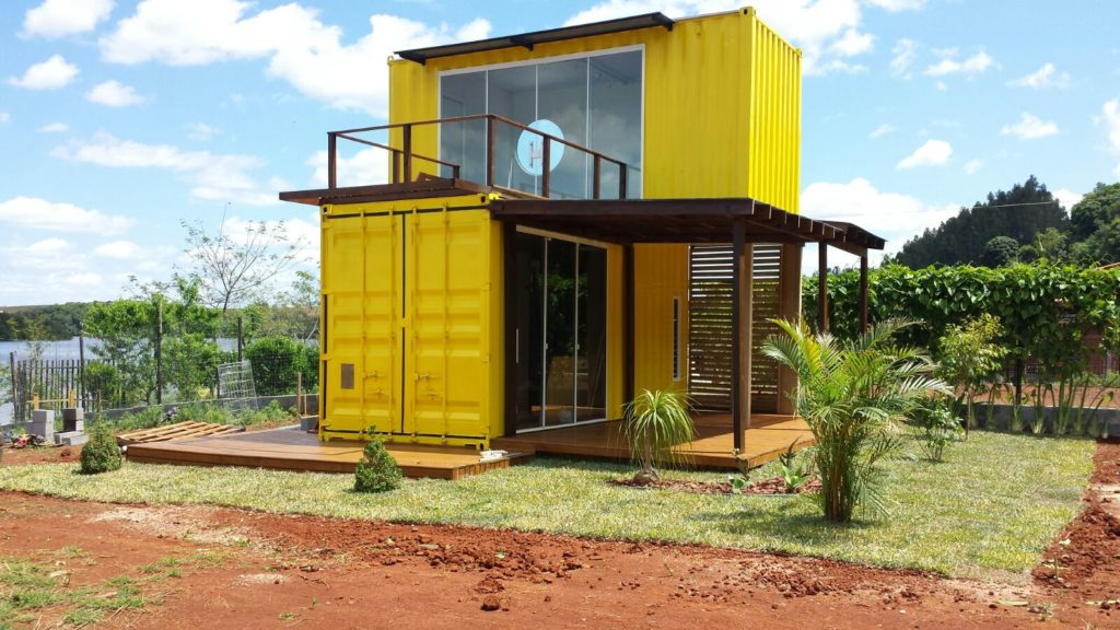 Yellow Container Home – Brazil 1