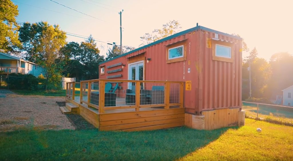 Fresh and Modern Asheville Shipping Container Home 3