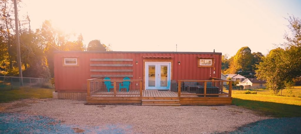 Fresh and Modern Asheville Shipping Container Home 5