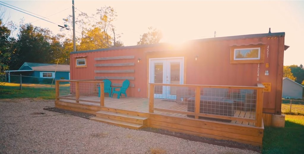 Fresh and Modern Asheville Shipping Container Home 4
