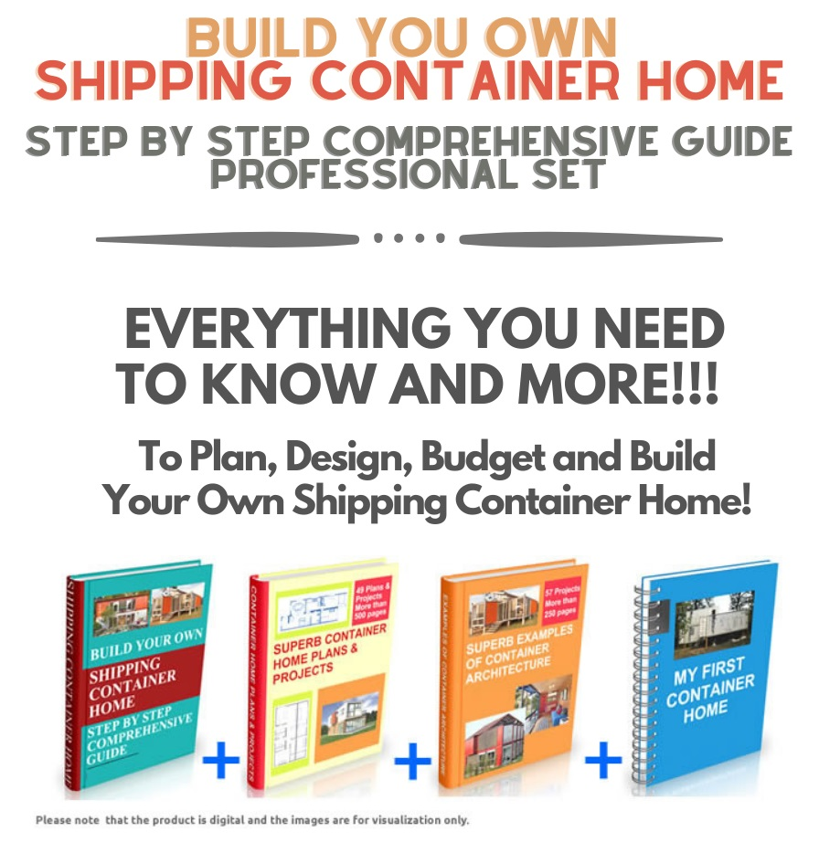 Build Your Own Shipping Container Home !!!